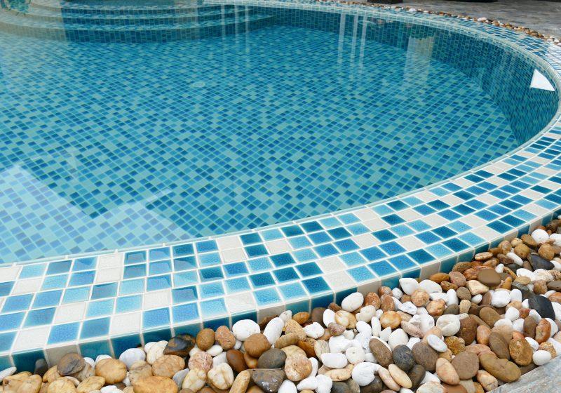 Swimming Pool Pressure Washing : Tile cleaning acid wash pressure washing blue water